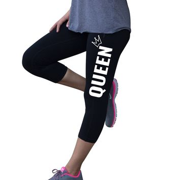 Queen Fitness Leggings for Women