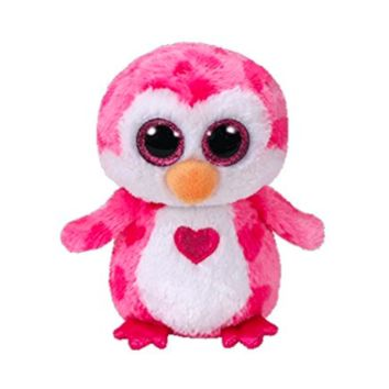 TY Plush Juliet the Penguin 9 inch Medium Valentine 2018 Beanie Boo, Animals & Figures - Amazon Canada