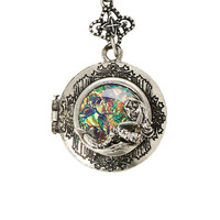 LOVEsick Mermaid Locket Long Necklace