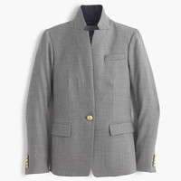 J.Crew Womens Regent Blazer With Satin Lapel