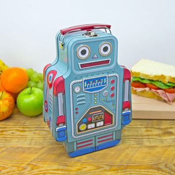 Lunch Bot Robot Lunch Box