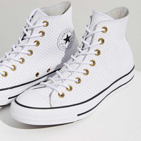 Converse Chuck Taylor Perforated Leather Sneaker - Urban Outfitters