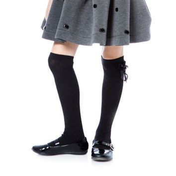 Deux par Deux High Knee Socks