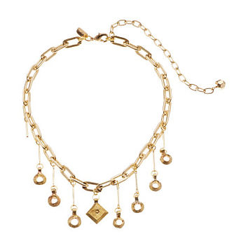 Vanessa Mooney The Celeste Chain Choker Necklace