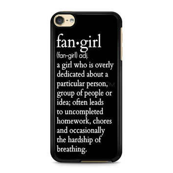 iPod Touch 4 5 6 case, iPhone 6 6s 5s 5c 4s Cases, Samsung Galaxy Case, HTC One case, Sony Xperia case, LG case, Nexus case, iPad case, Quote fangirl Cases