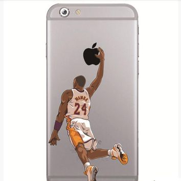 kobe bryant case iphone 6 6s 6s plus 7 7s 7s  number 1