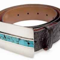 Belt Buckles, Jewelry & Gifts | John Rippel USA | Santa Fe Sky Belt Buckle