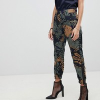 G-Star Be RawTapered Floral Cargo Trouser at asos.com