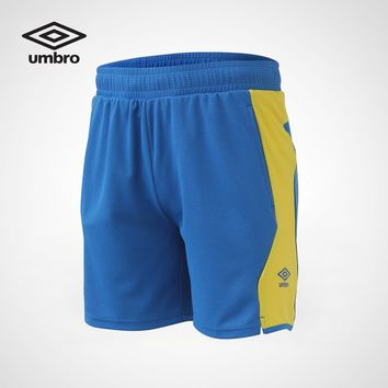 Umbro Men Sports Shorts Pants Sportswear Breathable Running Elastic Waist Short Pants High Quality Sweatpants UCC63753