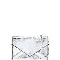 Tory Burch Metallic Envelope Mini Crossbody Bag