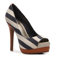 JS by Jessica Edith Stripe Pump - DSW