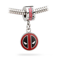 Deadpool Logo Dangle Charm Bead