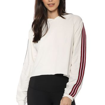 Brooklyn Karma Side Stripe Hoodie Pullover