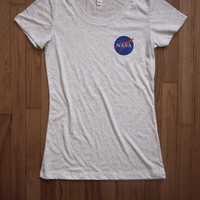 Nasa Women Tee shirt loose neck Bella