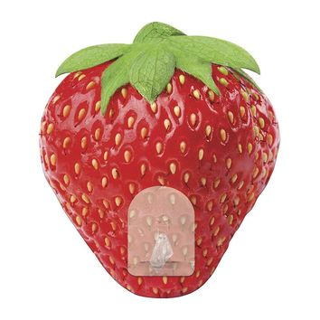 Strawberry Hook Wall Decal (Red)