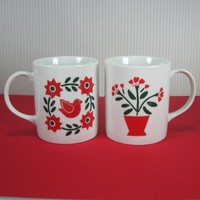 Mugs - Pennsylvania Dutch Lillian Vernon 1984