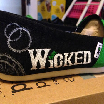 Custom Toms Shoes - Wicked