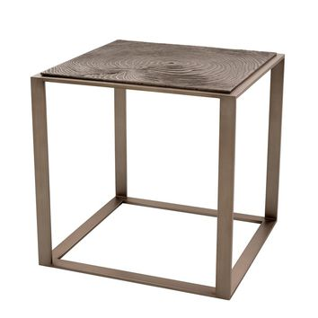 Square Bronze Side Table | Eichholtz Zino