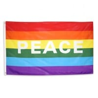Human Rights Campaign | Rainbow Peace Flag | Gay Rights