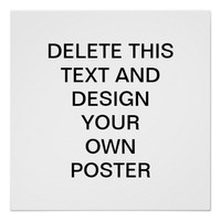 Design Your Own Perfect Poster