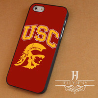 USC logo iPhone 4 5 5c 6 Plus Case, Samsung Galaxy S3 S4 S5 Note 3 4 Case, iPod 4 5 Case, HtC One M7 M8 and Nexus Case