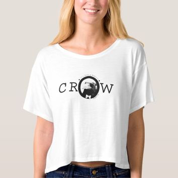 It's Just a Hipster Crow Tee Shirt