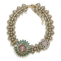 CRYSTAL FLOWER NECKLACE - Accessories - Accessories - Woman | ZARA United States