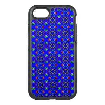 Bright Geometric Design OtterBox Symmetry iPhone 7 Case