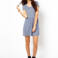 Only Short Sleeve Skater Dress