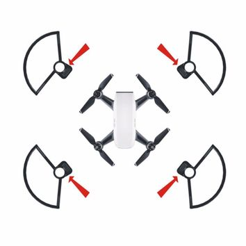 4pcs Drone Propeller Guard Blade Protective Bumper Anti-Collision Ring Quick-release Drone Accessories For DJI RC Drone
