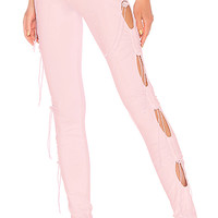 Fenty by Puma Ruching Legging in Pink Lady
