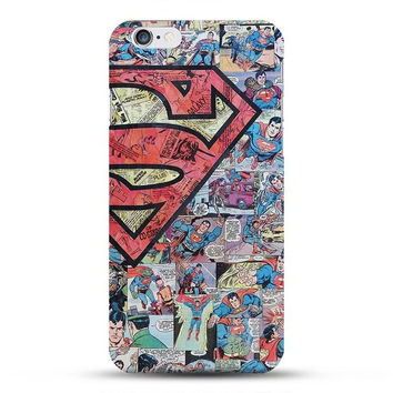 Superman Comics Phone Case For iPhone 7 7Plus 6 6s Plus 5 5s SE