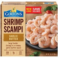Gorton's Garlic Butter Shrimp Scampi, 10.5 oz. - Walmart.com