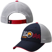 US Olympic Team Sugarloaf Slouch Meshback Rio 2016 Hat – Navy Blue