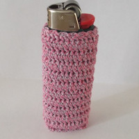 Hand Crafted Lighter Case Thread Crochet Lighter by cyicrochet