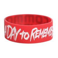 A Day To Remember Common Courtesy Rubber Bracelet
