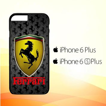 Ferrari logo Z3061 iPhone 6 Plus|6S Plus Case