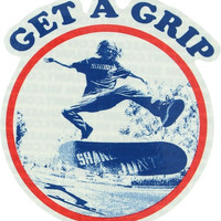 Shake Junt Get A Grip Decal Single