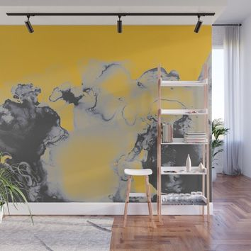 Lellow Wall Mural by duckyb