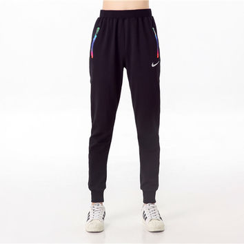 "Autumn Winter "" Nike "" Like Just Do It Fashion Print Thick Exercise Fitness Gym Yoga Running Harem Sweatpants  _ 9209"