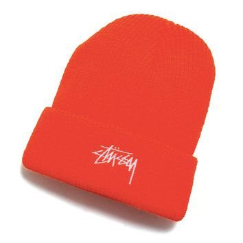 Stock HO18 Cuff Beanie Blaze Orange