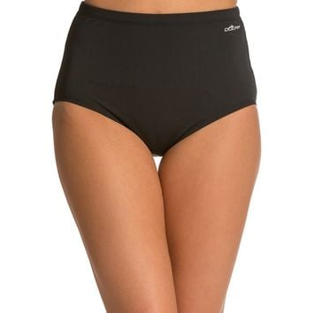 Dolfin Solid Tankini High Waisted Brief at SwimOutlet.com