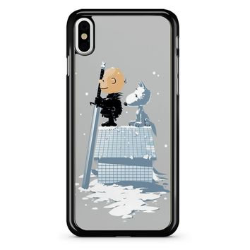 Winter Peanuts Snoopy iPhone X Case