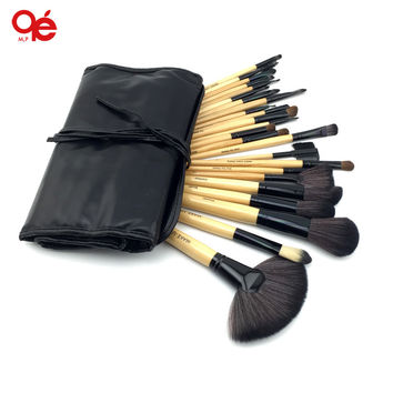 Professional 24 Pcs Makeup Brush Set Tools Make-up Toiletry Kit Wool Brand Make Up Brush Set Case