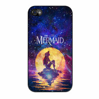 Mermaid The Little Moonlight Galaxy Nebula iPhone 4s Case