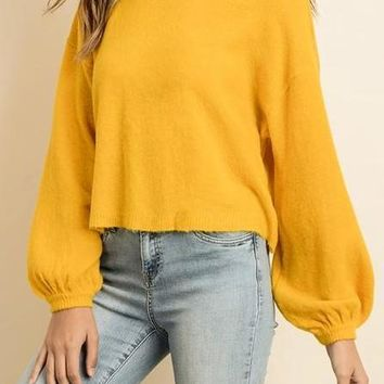 Joelle Sweater in Mustard