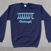 Octopi Funny Math Crewneck Sweatshirt