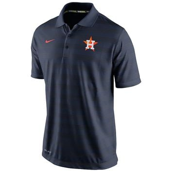 Nike Houston Astros Striped Dri-FIT Performance Polo 1.5