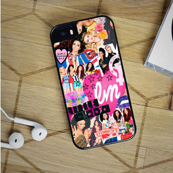 little mix collage iPhone 5(S) iPhone 5C iPhone 6 Samsung Galaxy S5 Samsung Galaxy S6 Samsung Galaxy S6 Edge Case, iPod 4 5 case