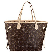 Louis Vuitton Neverfull MM Monogram Neverfull MM Monogram Canvas Handbag Shoulder Bag